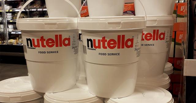 Σούπερ μάρκετ στην Γερμανία πουλάει την Nutella σε κουβάδες