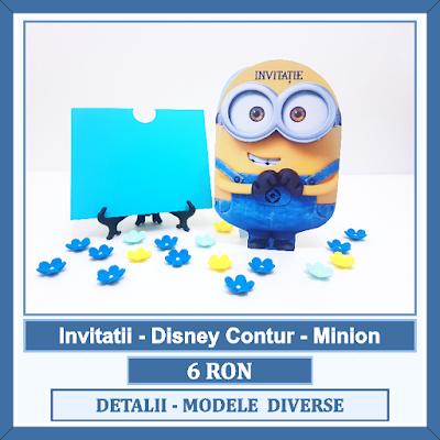 http://www.bebestudio11.com/2018/02/invitatii-botez-minion-disney-contur-cu.html