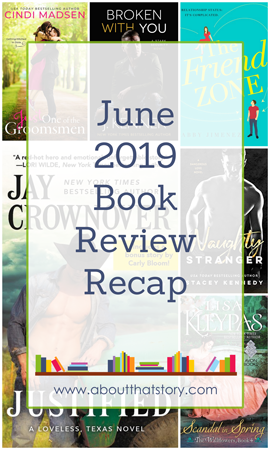 June 2019 Book Review Recap | About That Story