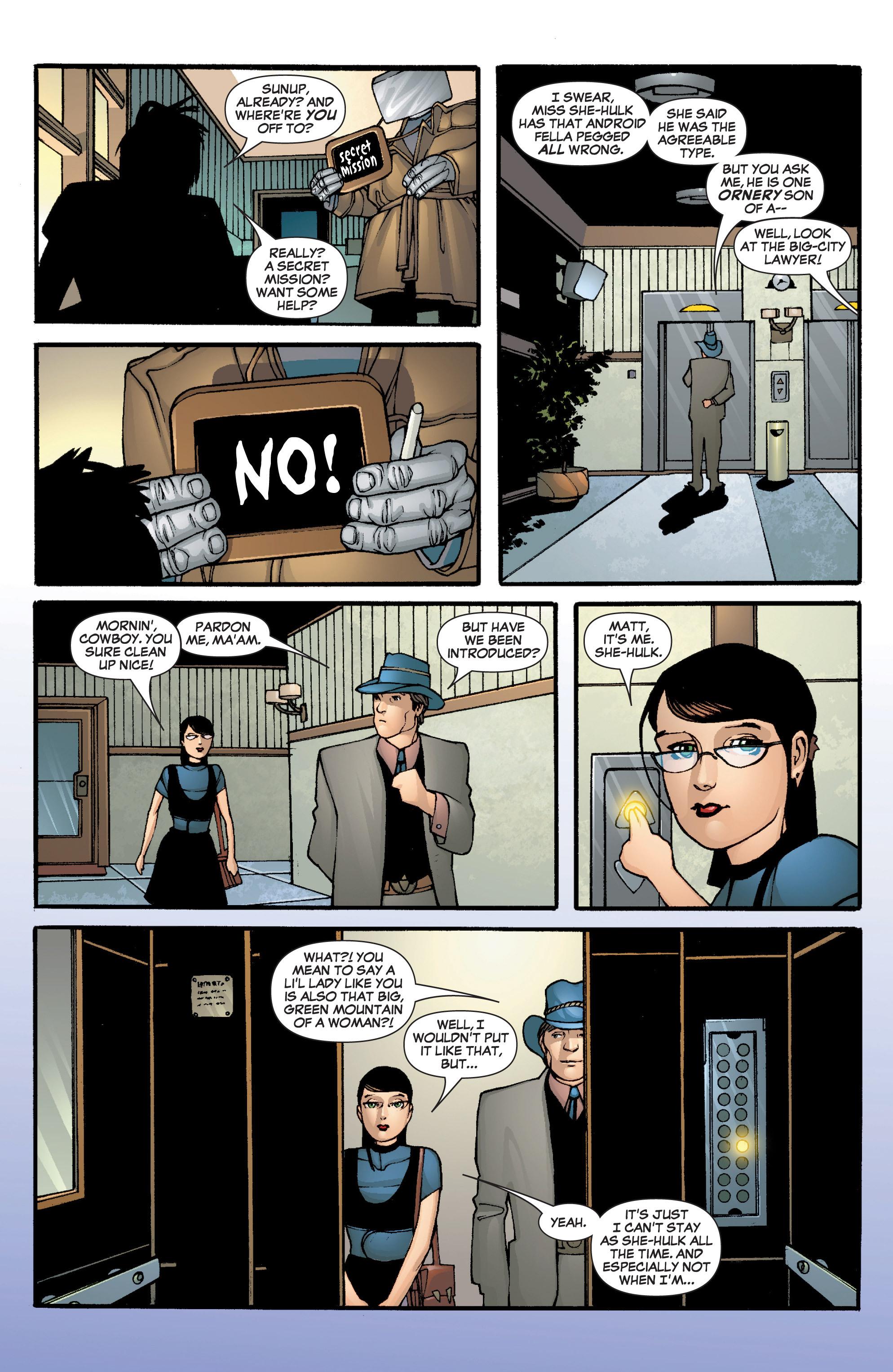 Read online She-Hulk (2005) comic -  Issue #5 - 14
