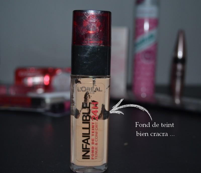 Fond de teint Infaillible 24H L'Oréal