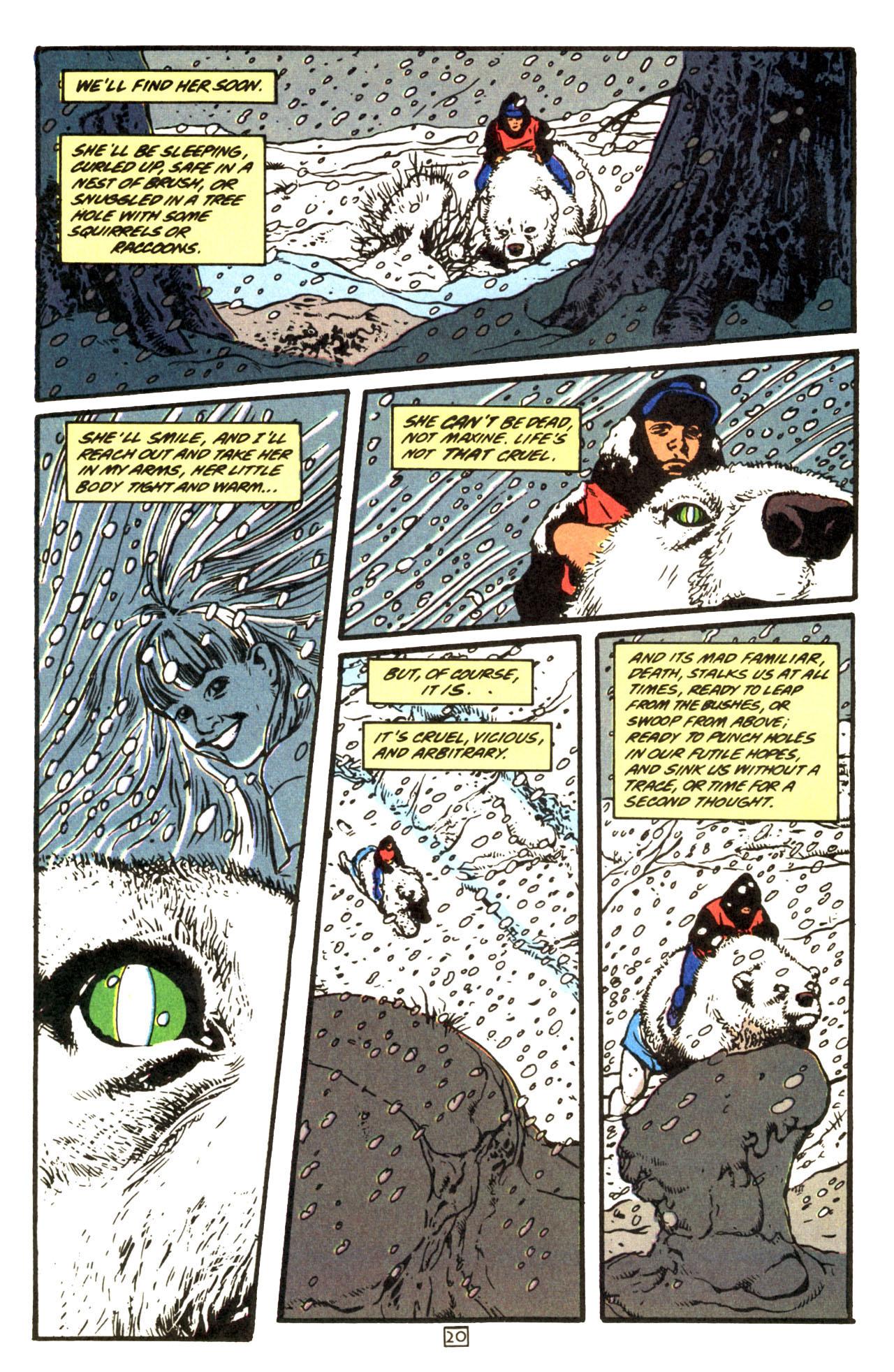 Read online Animal Man (1988) comic -  Issue #69 - 21