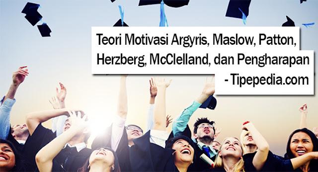 Teori Motivasi Argyris, Maslow, Patton, Herzberg, McClelland, dan Pengharapan