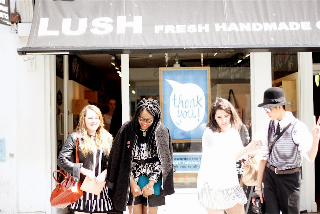 Lush South Molton Street Bloggers