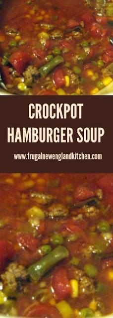 Crockpot Hamburger Barley Sloup