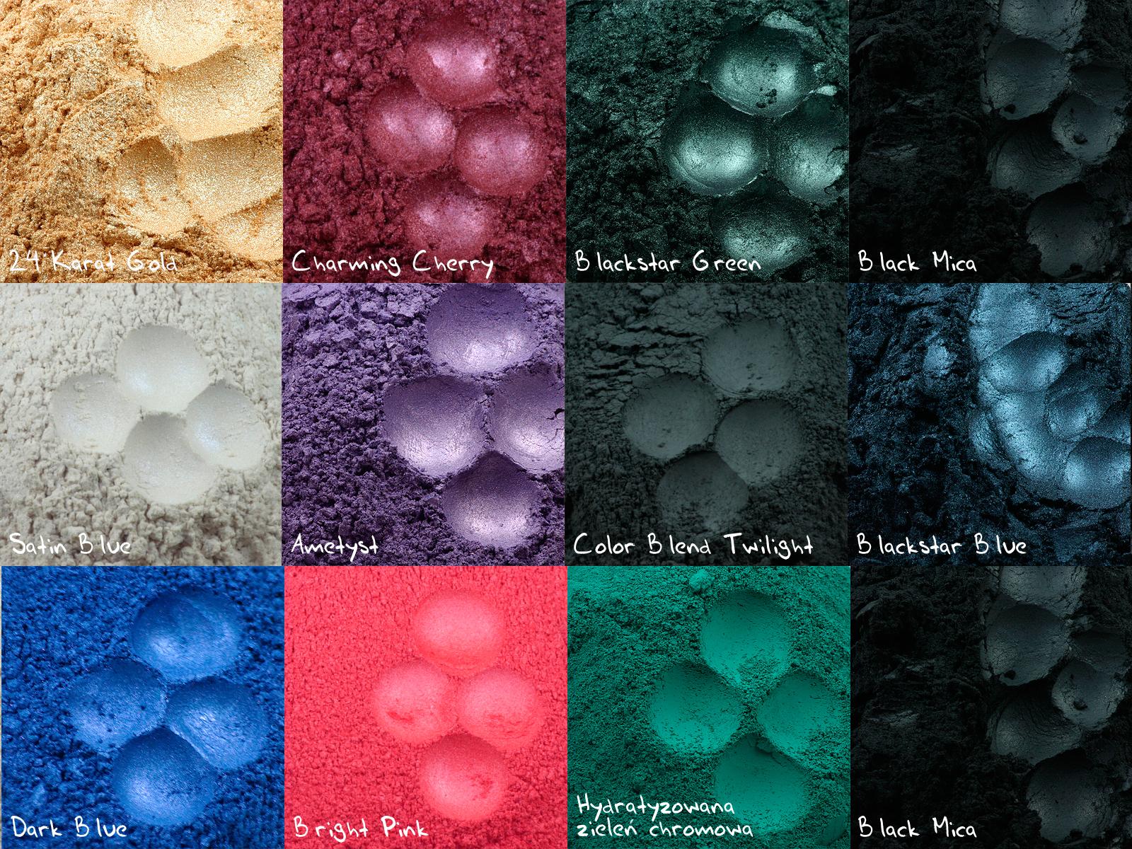 Analiza kolorystyczna: pigmenty mineralne dla każdego z 12 typów, odc. 2: ZIMA