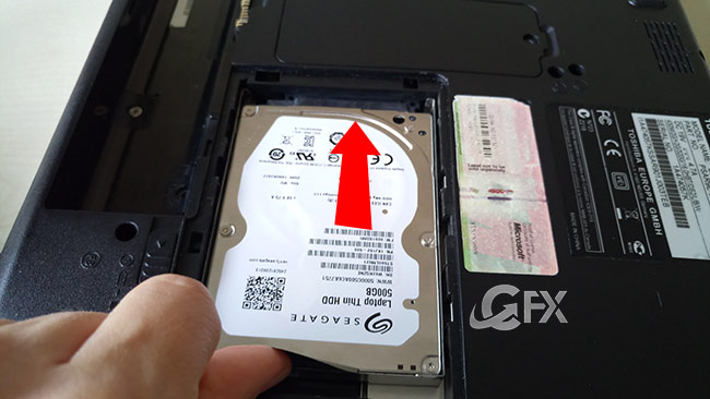 How to Replace a Laptop Hard Drive-www.ceofix.net