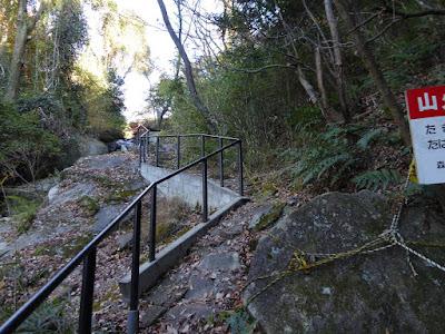 JR津田駅から源氏の滝・白旗池(交野市いきものふれあいの里)までの道のり ハイキングコース