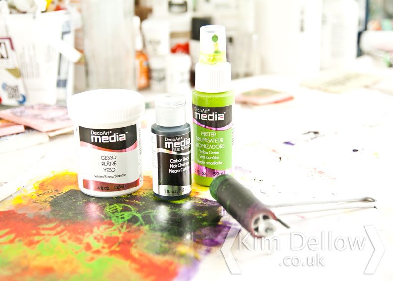 DecoArt Media acrylic paint range
