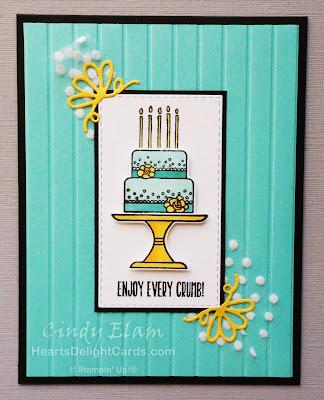 Heart's Delight Cards, Piece of Cake, MIFDC16, Occasions 2019, Stampin' Up!