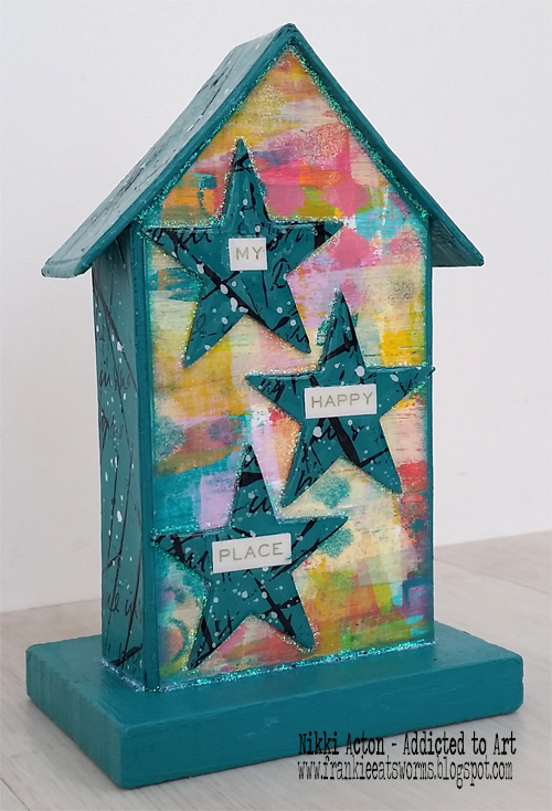 Tim Holtz Tiny Houses - by Nikki Acton