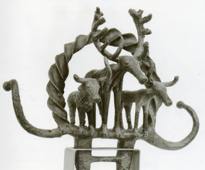 A religious standart of the Hitit, ceremonial symbol, Alacahöyük