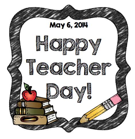 Happy Teachers Day Clipart