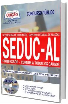 Apostila Concurso SEDUC-AL 2018 Professor (Atualizada)