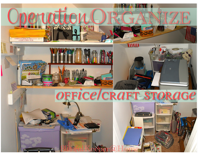OperationOrganize: Office/Craft Storage Closet