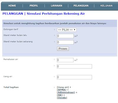 Cara Cek Tagihan PDAM Kabupaten Bogor Via Online