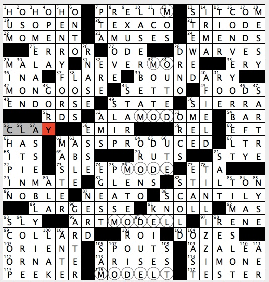 Rex Parker Does The Nyt Crossword Puzzle July 2013
