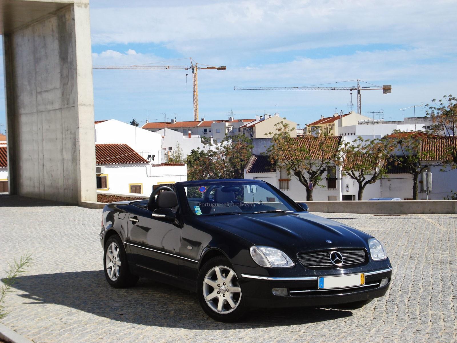 portuguese petrol head driven mercedes benz slk 200 1999 r170. Black Bedroom Furniture Sets. Home Design Ideas