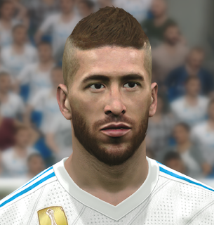 PES 2017 Faces Sergio Ramos by WER Facemaker