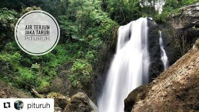 Potensi Wisata Alam Asli Pituruh, Curug Jaka Tarub dari Puncak Khayangan Desa Somogede
