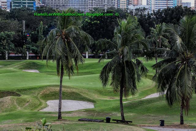 Golf Course, Baluarte de San Andres, Intramuros, Manila, Philippines