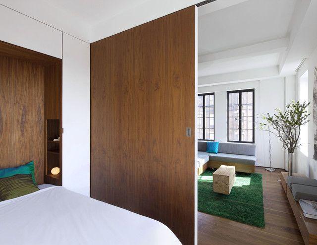 Functional%2B%2526%2BStylish%2BSliding%2BRolling%2BDividers%2BWood%2BDoors%2B%252813%2529 30 Practical & Fashionable Sliding Rolling Dividers Wooden Doorways Interior