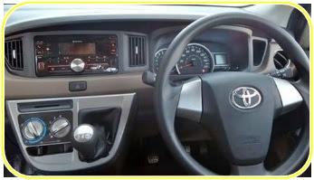 2017 Toyota Calya Specs