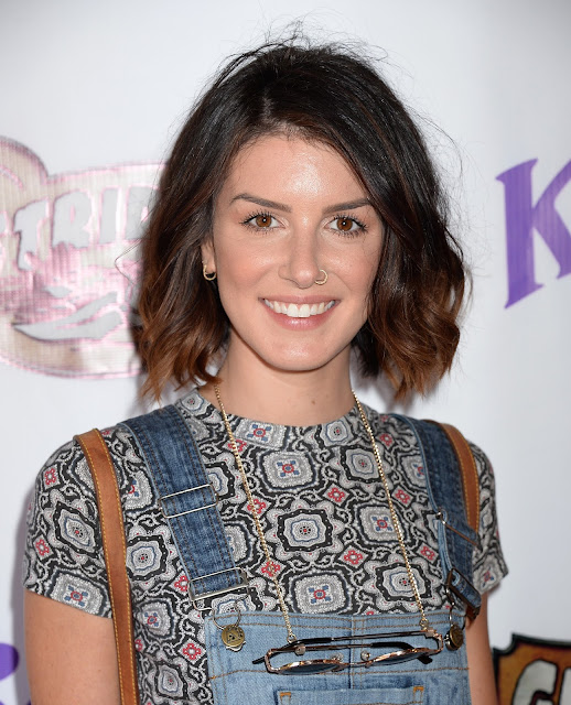 Actress, @ Shenae Grimes - Ghost Rider Rides Again Event at Knotts Berry Farm in Buena Park