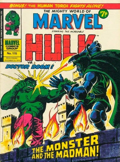 Mighty World of Marvel #115, Dr Doom vs the Hulk
