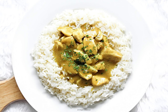 Homemade Chicken Curry Sauce Recipe