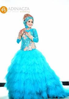 Model Gaun Pengantin Muslimah Yang Modern Terbaru