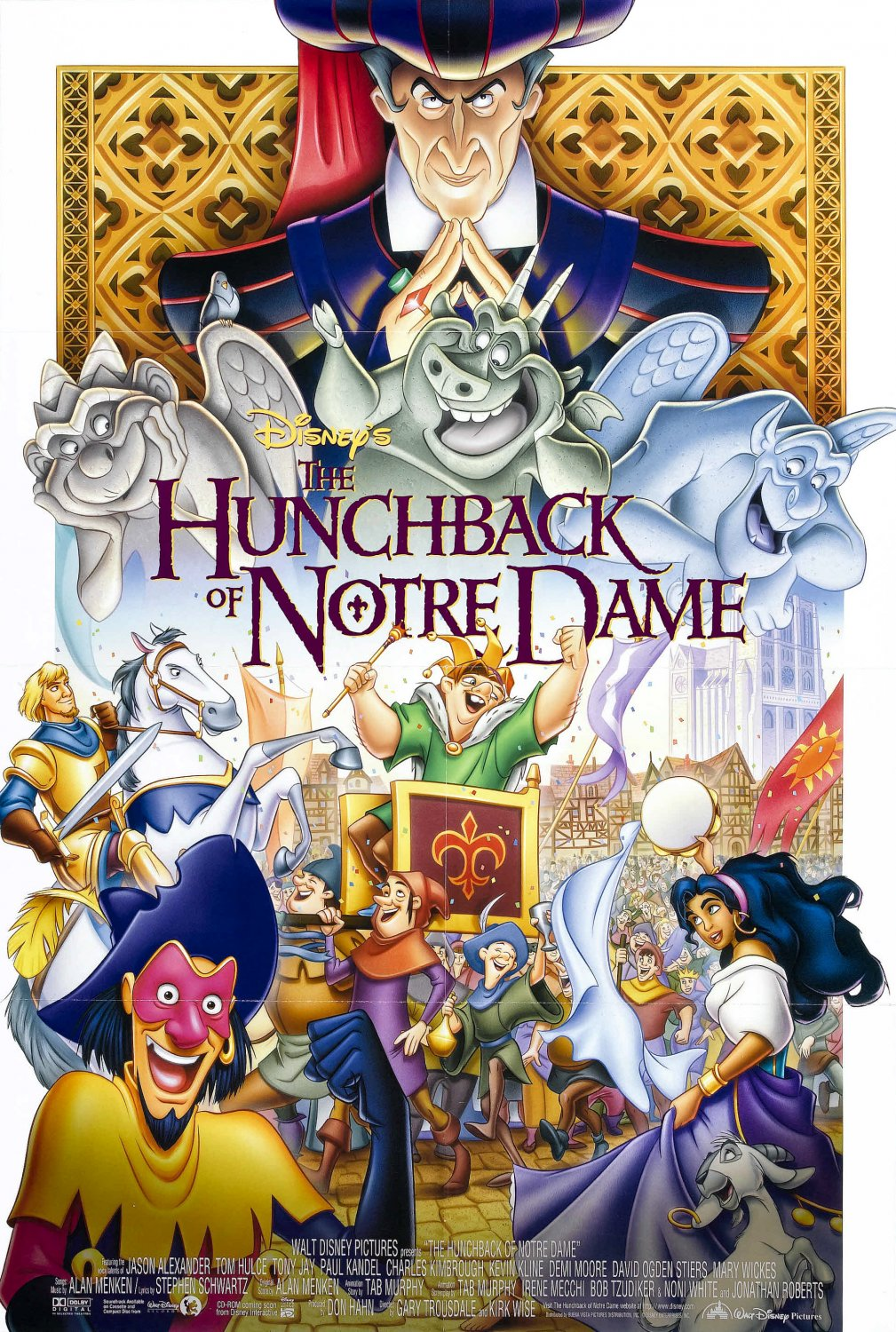 Lolo Loves Films Movie Review The Hunchback Of Notre Dame 1996