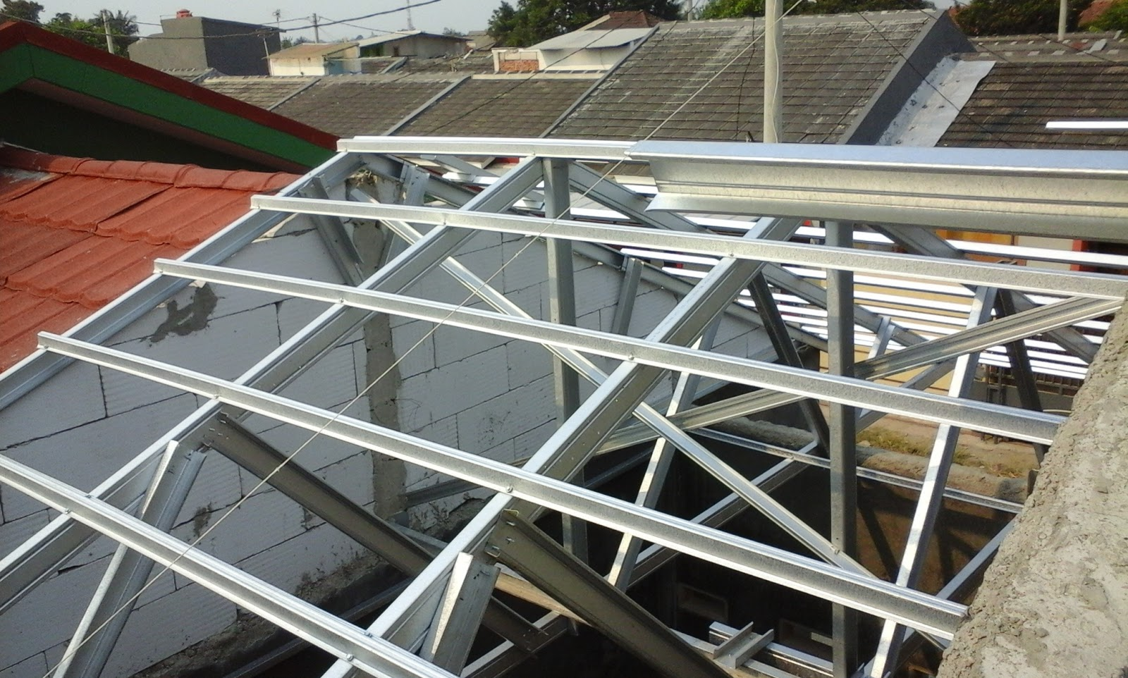 Jenis Atap Rumah Baja Ringan Denahose Rancangan Denah