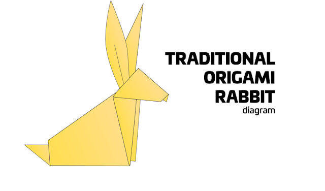 วิธีพับกระต่าย