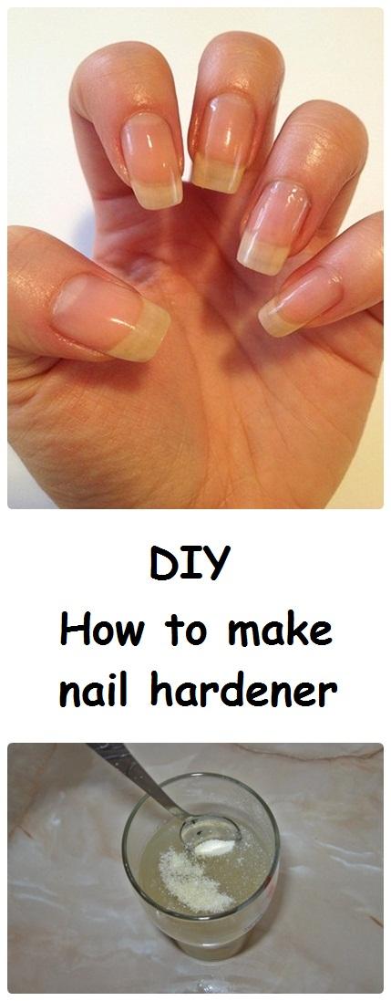 DIY How to make nail hardener