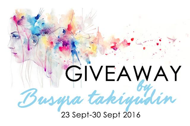 Pemenang Giveaway by Busyratakiyudin