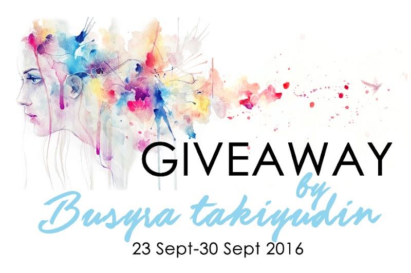 Giveaway by BusyraTakiyudin