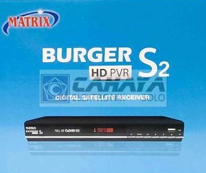 Receiver Murah Matrix Burger S2 Mpeg4 HD Powervu