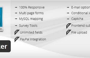 Form Maker plugin for WordPress