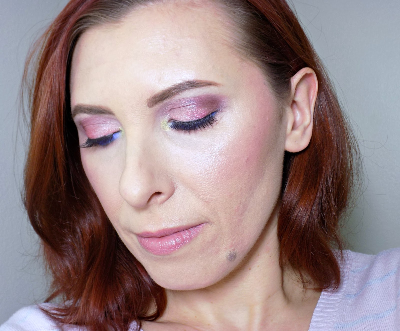Makeup inspired by Cherry blossom tree