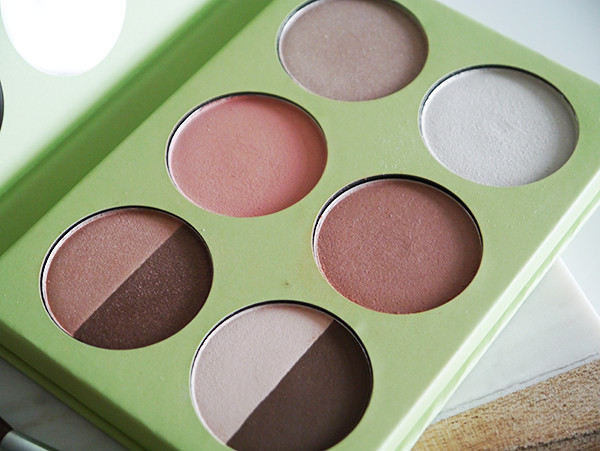 Pixi Book of Beauty Minimal Makeup Palette detail shot