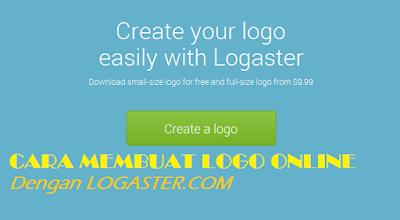 Cara Membuat Logo Online Logaster