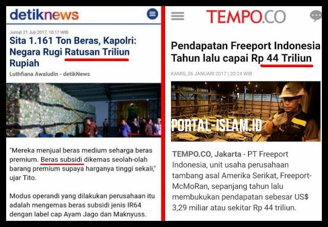 Ribut Beras Maknyuss, Jokowi Sah Perpanjang Kontrak Freeport Hingga 2031