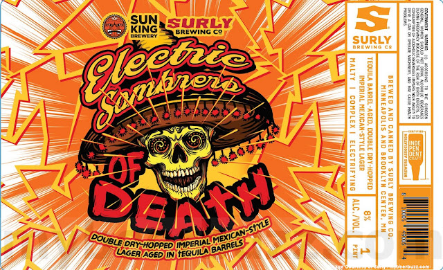 Surly & Sun King Collaborate On Electric Sombrero Of Death Cans