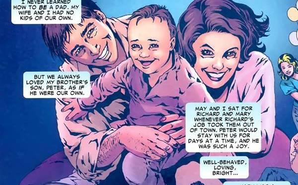 siapa spiderman adalah Peter Parker