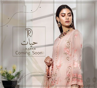 Hayat Chiffon Collection 2020 by Razab Fashion Price Detail Buy Online