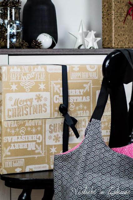 Weihnachten Geschenk: Charlie-Bag (selbst genähte Wendetasche)