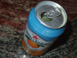 refresco natural de naranja