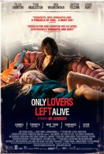 Poster for the movie Only Lovers Left Alive