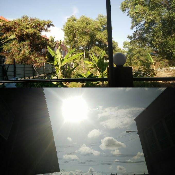 Gerhana Matahari dari Lensa Aku di Tawau